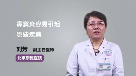 鼻窦炎容易引起哪些疾病