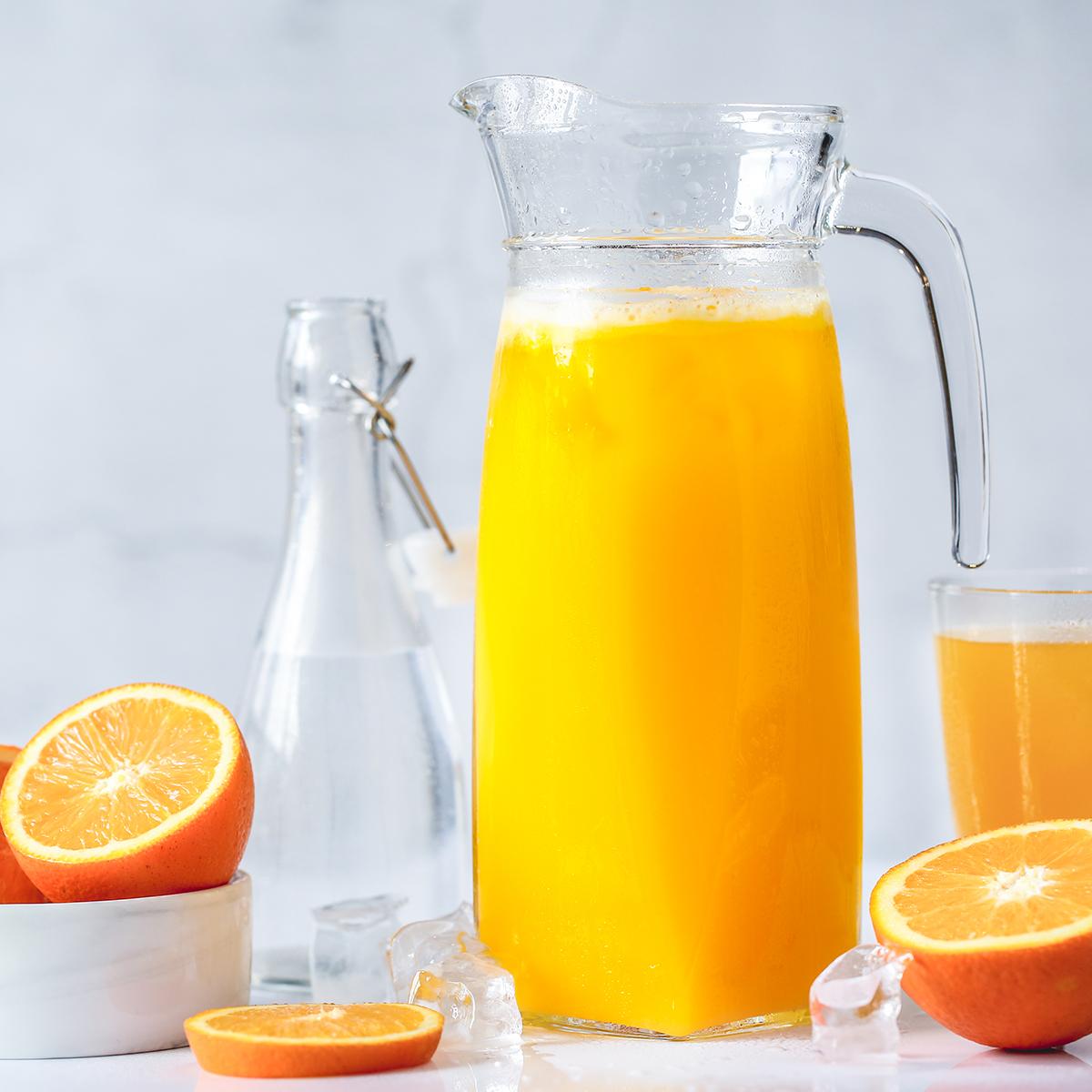 婴儿能不能吃橙汁